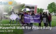 Haverhill Walk For Peace Rally – June 6, 2018 – The Haverhill Journal On the Go
