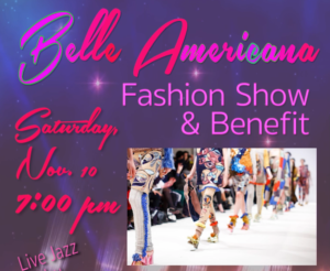 Belle Americana Fashion Show & Jazz Concert - to benefit Dinah's House and Merrimack Valley Music & Arts