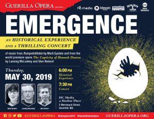 The Hannah Duston Experience: Guerrilla Opera Emergence Series