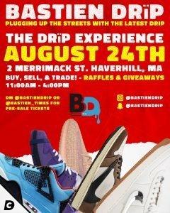 BASTIEN DRIP Sneaker Convention