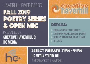 River Bards Fall 2019 Poetry Open Mic Series