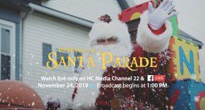 VFW Santa Parade Live Broadcast