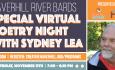 River Bards Poetry Night: Sydney Lea – November 2020