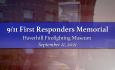 9/11 First Responders Memorial Ceremony - September 11, 2021