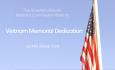 Vietnam Veterans Memorial Dedication – 2021