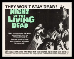 Popcorn Roulette Movie Night - Night of the Living Dead